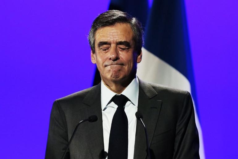 François Fillon, à Caen le 16 mars 2017