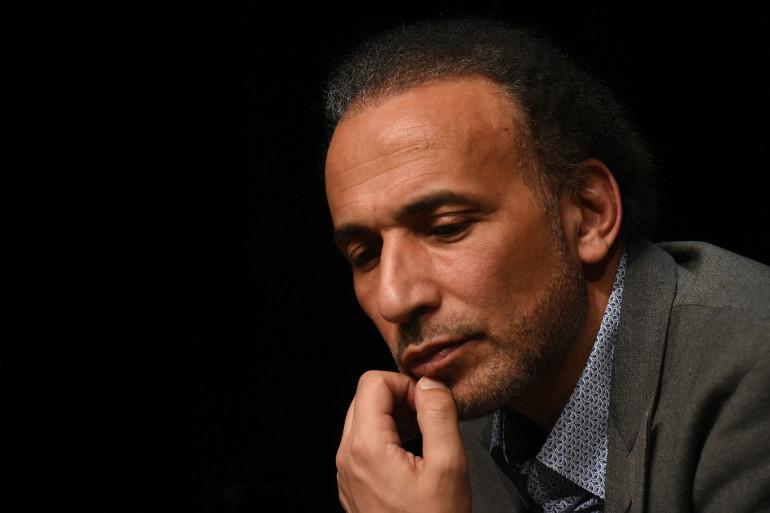 Tariq Ramadan le 26 mars 2016, lors d'une conférence à Bordeaux