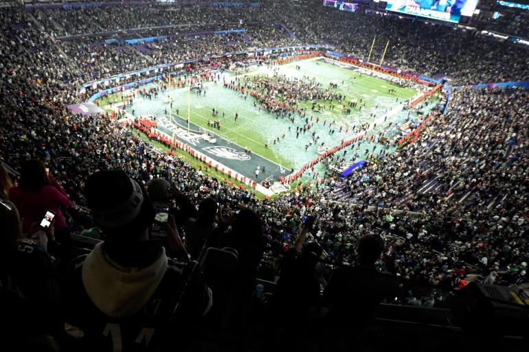 L'US Bank Stadium de Minneapolis a accueilli la finale du Super Bowl 2018, le 4 février 2018