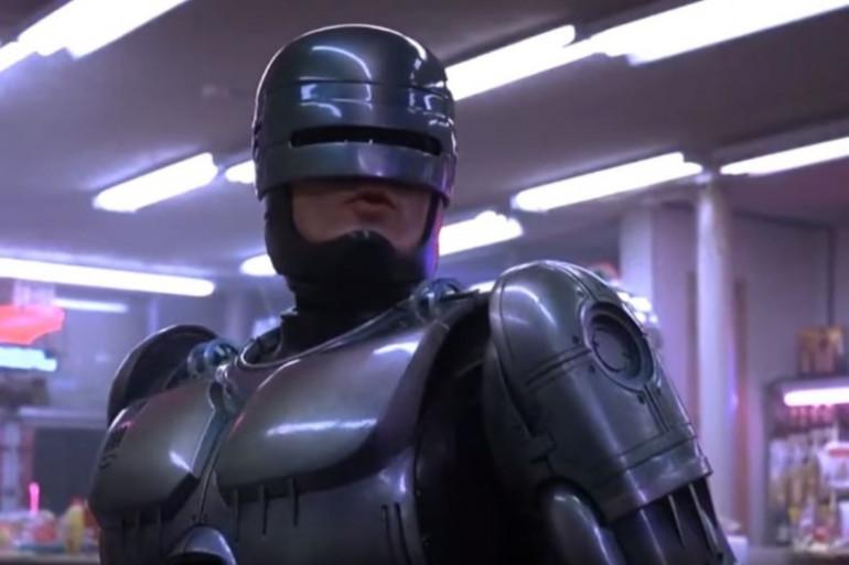 Le film Robocop de Paul Verhoeven sorti en 1987