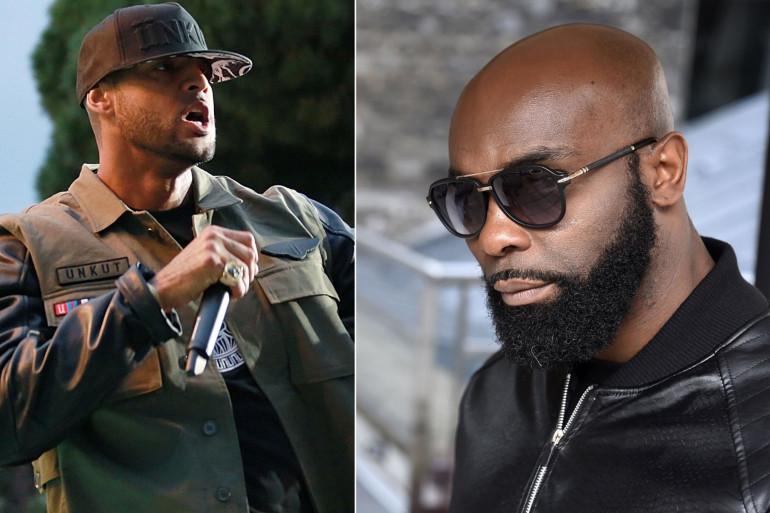 Les rappeurs Booba et Kaaris s'affronteront le 30 novembre à Bâle, en Suisse