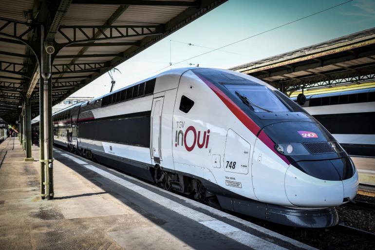 Un TGV à la Gare de Lyon (Paris).