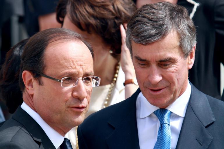 François Hollande et Jérôme Cahuzac, à l'Élysée en juillet 2012