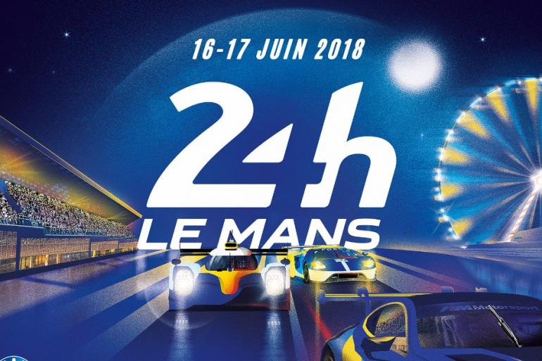 L'affiche des 24 Heures du Mans 2018
