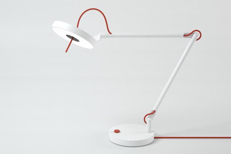 La lampe MyLiFi est l'une des premières applications grand public utilisant la lumière fournie par les LED pour délivrer une connexion haut débit