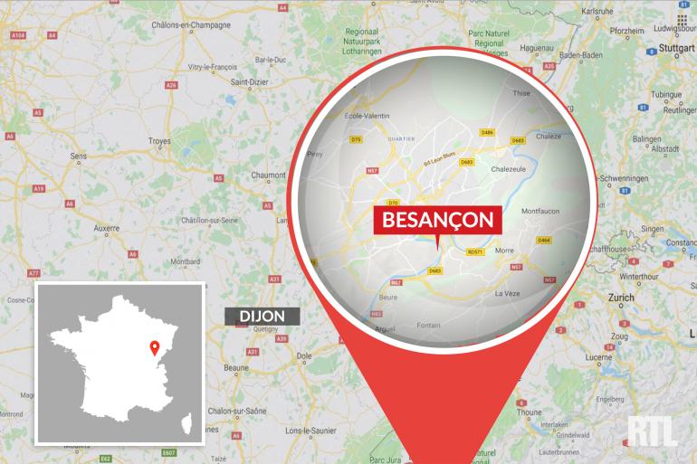 La ville de Besançon est située dans le Doubs.
