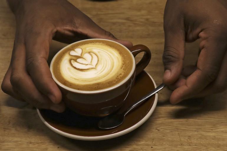 Une tasse de café (illustration).