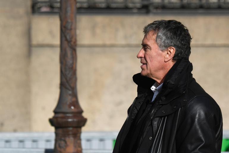 Jérôme Cahuzac au Palais de Justice de Paris, le 12 février 2018
