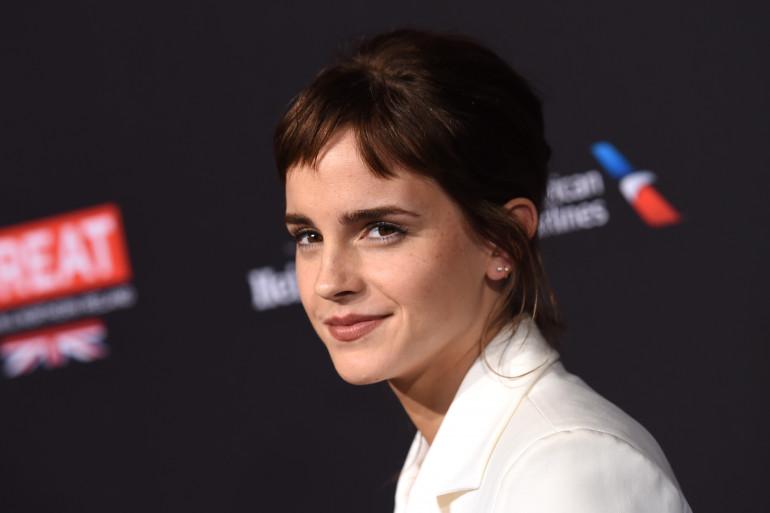 Emma Watson lors d'un événement organisé par les BAFTA le 6 janvier 2018 à Los Angeles