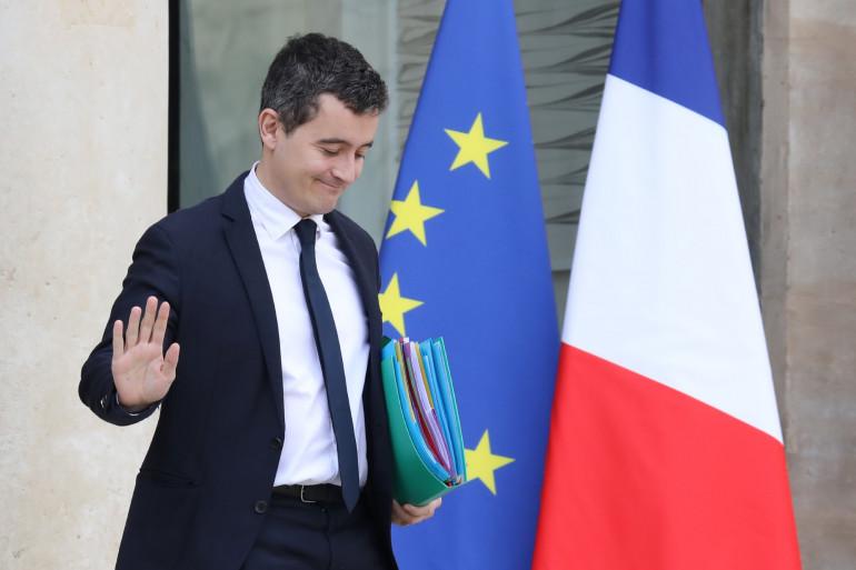 Le ministre de l'Action et des Comptes publics Gérald Darmanin, le 24 janvier 2018 à Paris