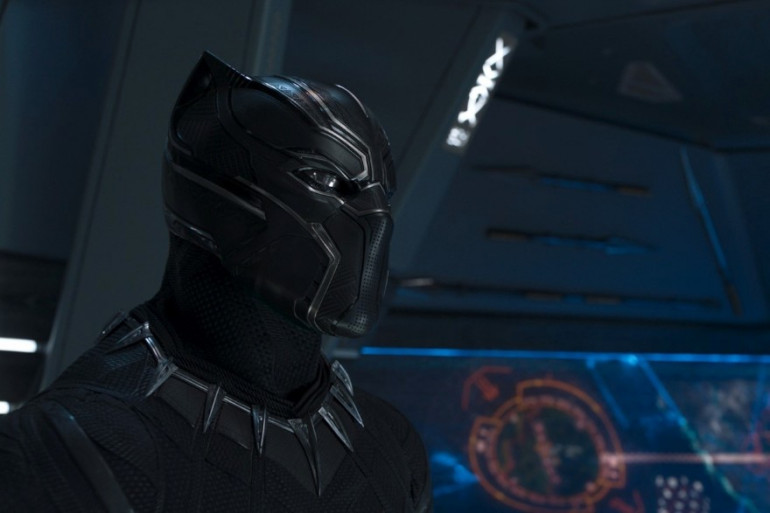 Chadwick Boseman dans le rôle de Black Panther