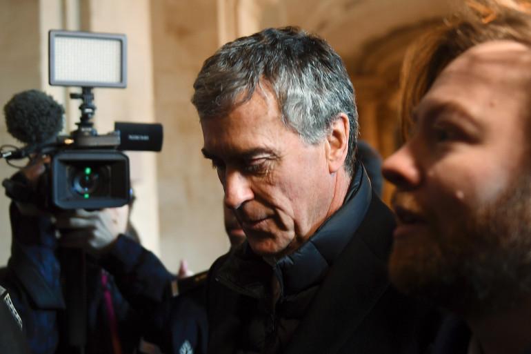 Jérôme Cahzuac, lors de l'ouverture de son procès en appel le 12 février 2018
