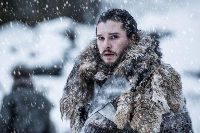 """Kit Harington dans la série """"Game of Thrones"""""""