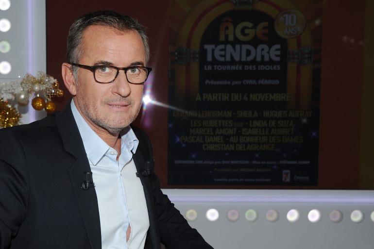 """Christophe Dechavanne, le producteur de """"Âge tendre, la tournée des idoles"""""""