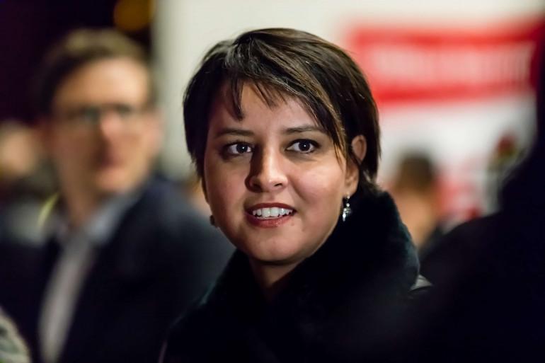 Najat Vallaud-Belkacem le 5 décembre 2017