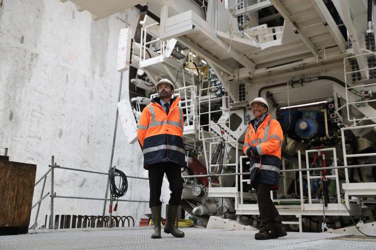 Le Premier ministre Edouard Philippe a évoqué le projet du métro Grand Paris jeudi 22 février 2018