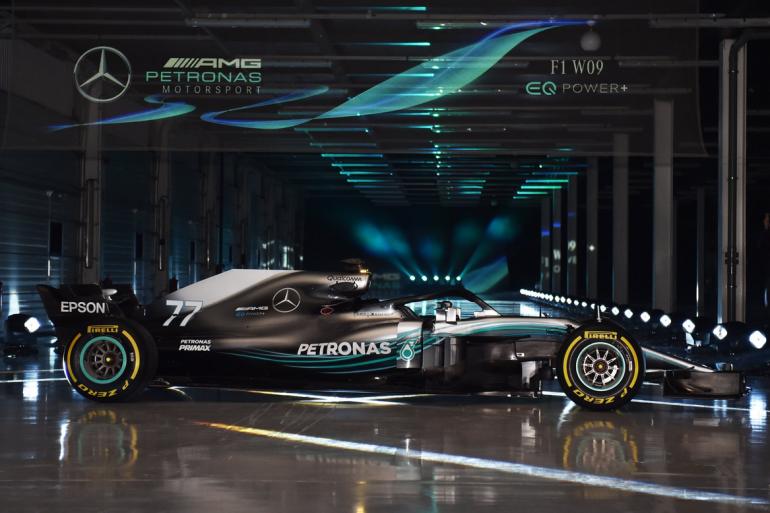 La F1 W09 EQ Power+ de Mercedes