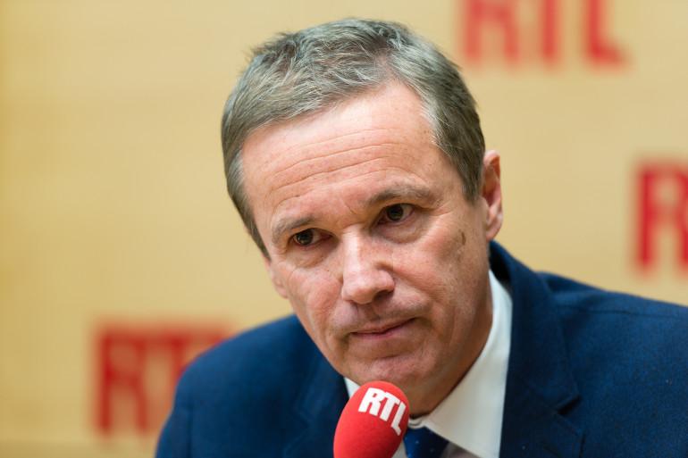 Nicolas Dupont-Aignan était l'invité de RTL Matin le 23 février 2018