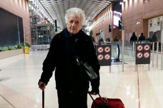 """À 93 ans, """"Mamy Irma"""" part pour une mission humanitaire au Kenya."""