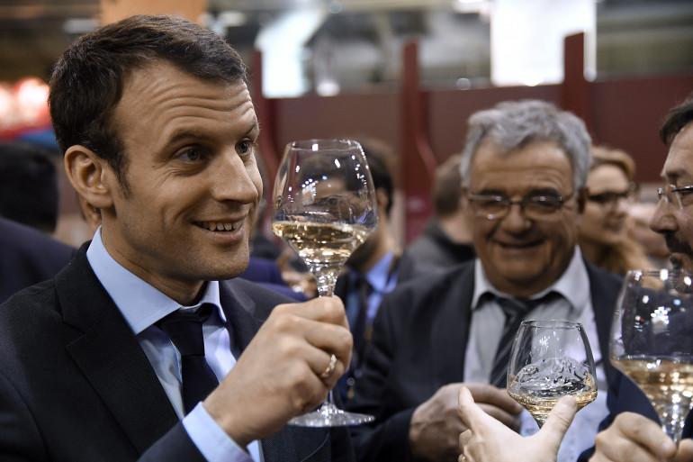 Emmanuel Macron le 3 mars 2016