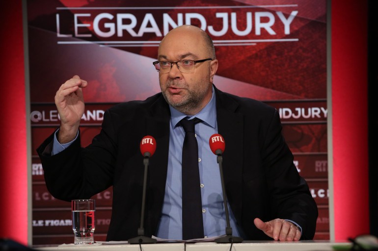 """Stéphane Travert, ministre de l'Agriculture, sur le plateau du """"Grand Jury"""" dimanche 25 février 2018"""