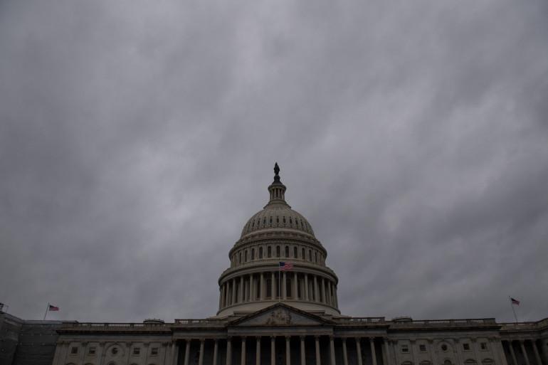 Illustration du Capitole où siège le Congrès