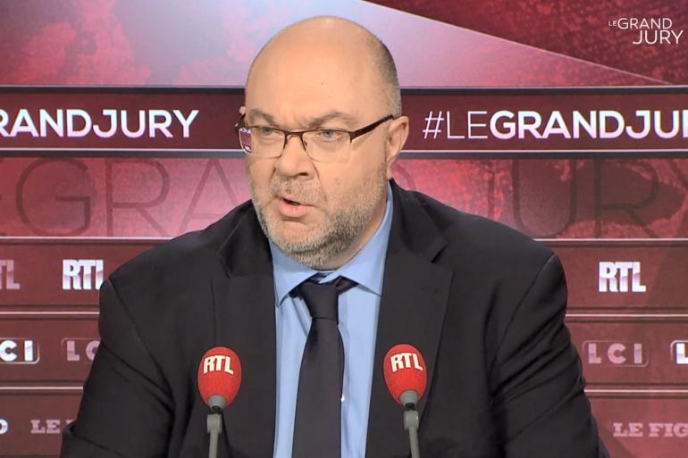 """Stéphane Travert dans """"Le Grand Jury RTL, Le Figaro, LCI"""""""