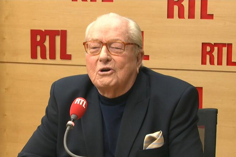 Jean-Marie Le Pen, invité de RTL le 26 février 2018