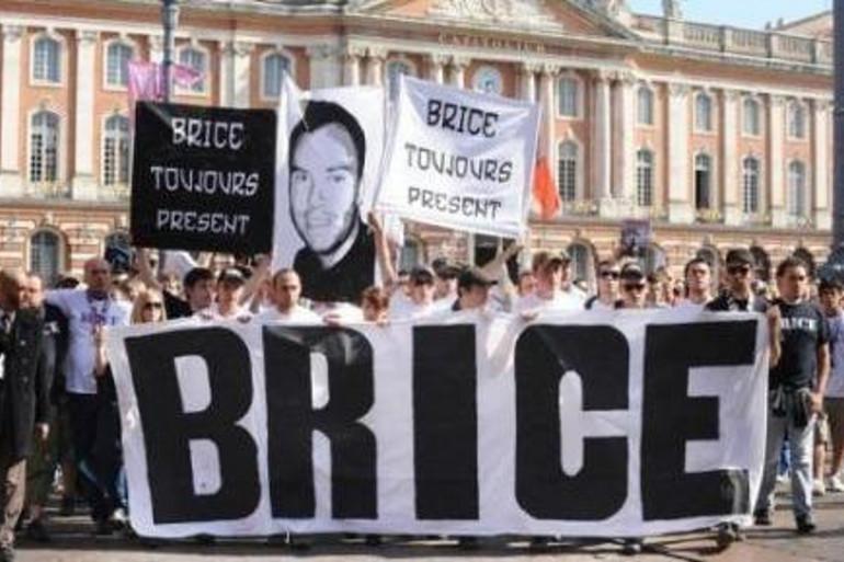 Marche en l'honneur de Brice Taton à Toulouse, le 4 octobre 2009
