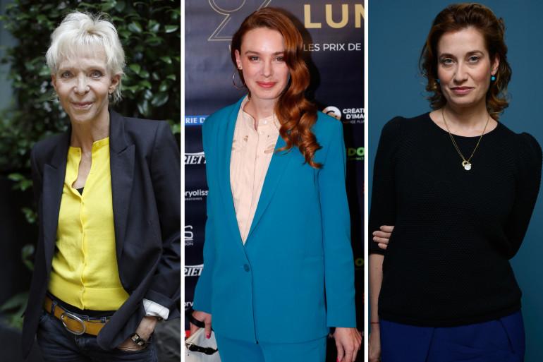Tonie Marshall, Laetitia Dosch et Emmanuelle Devos sont engagées contre les violences faites aux femmes