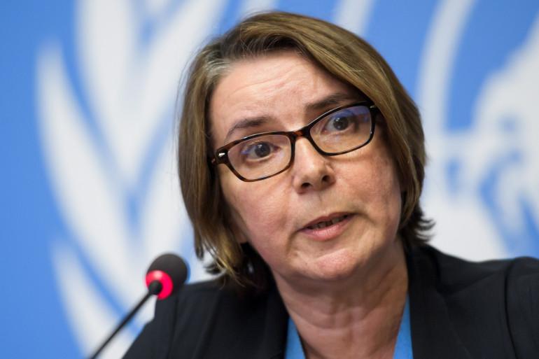 Catherine Marchi-Uhel est juge et enquête pour l'ONU sur les crimes de guerre et contre l'humanité commis en Syrie