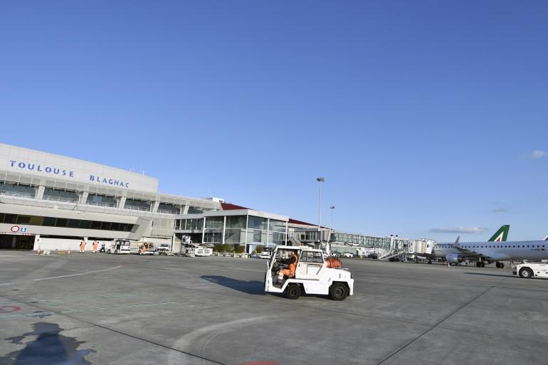L'aéroport de Toulouse Blagnac (Haute-Garonne)