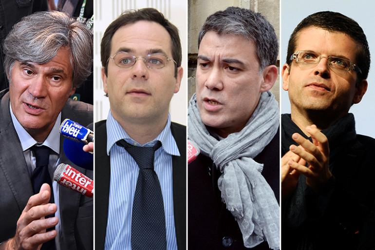 Stéphane Le Foll, Emmanuel Maurel, Olivier Faure et Luc Carvounas sont candidats pour devenir premier secrétaire du Parti socialiste