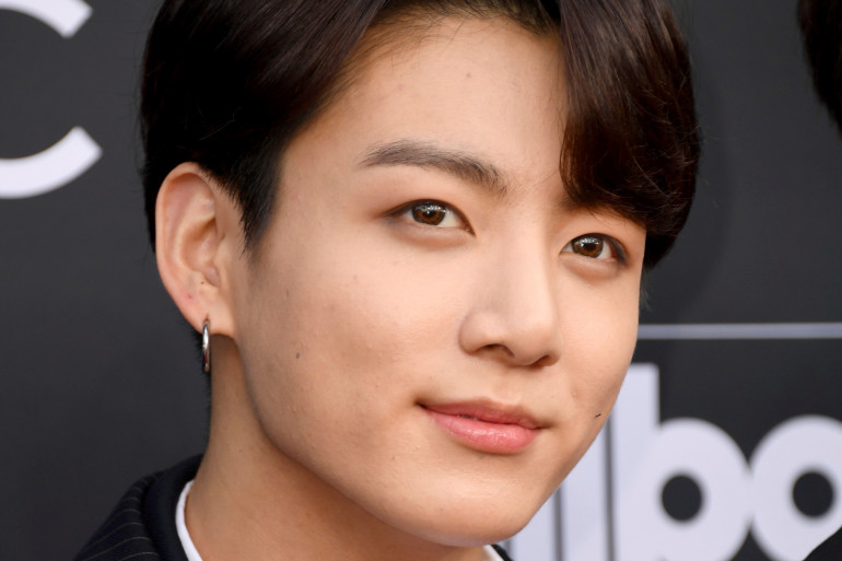 Jungkook, chanteur et danseur du groupe sud-coréen BTS