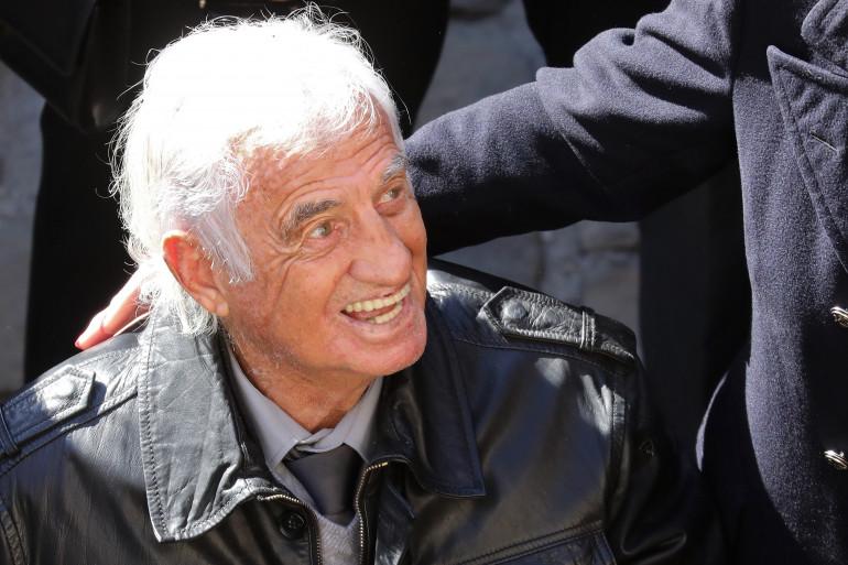 Jean-Paul Belmondo, en 2018.