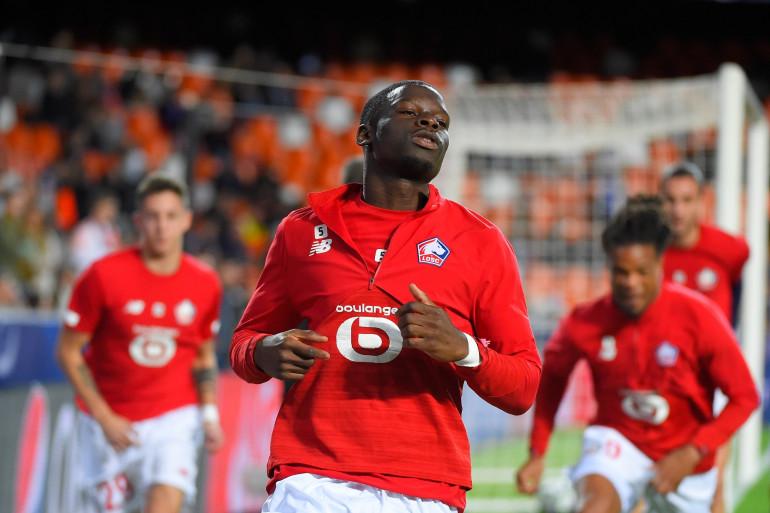 Adama Soumaoro et les Lillois sont éliminés de la Ligue des champions après leur revers 4-1 à Valence, le 5 novembre 2019
