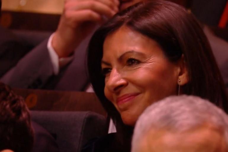 Anne Hidalgo pendant la 43e cérémonie des César