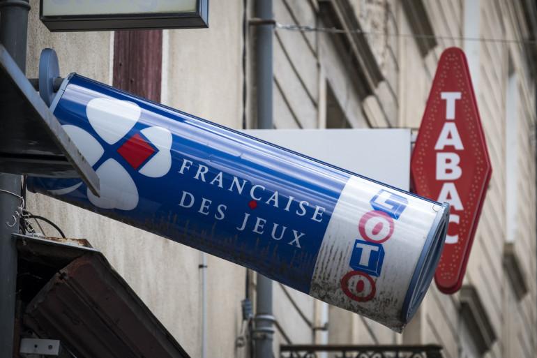 Un bar tabac vendant des tickets de la Française des jeux (illustration)