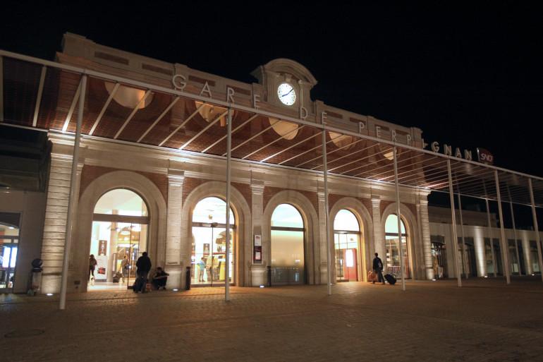 La gare de Perpignan où plusieurs femmes avaient disparues à la fin des années 2000