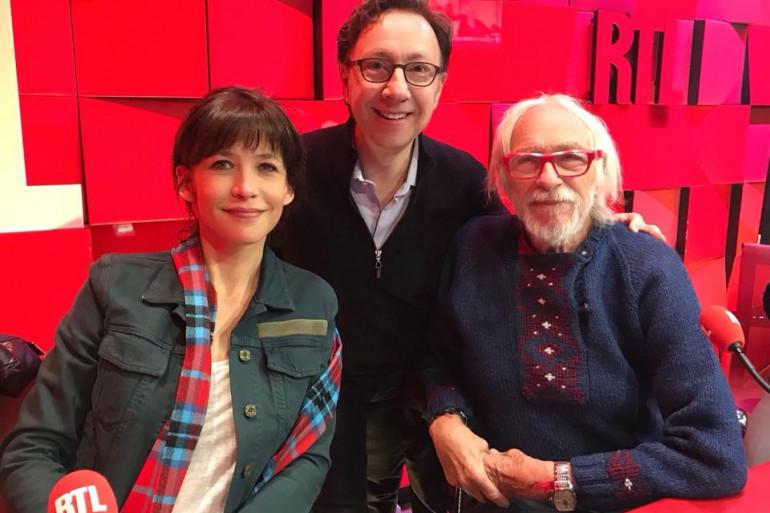 Sophie Marceau, Pierre Richard et Stéphane Bern