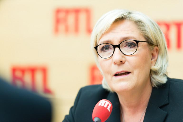 Marine Le Pen était l'invitée de RTL Matin le 6 mars 2018