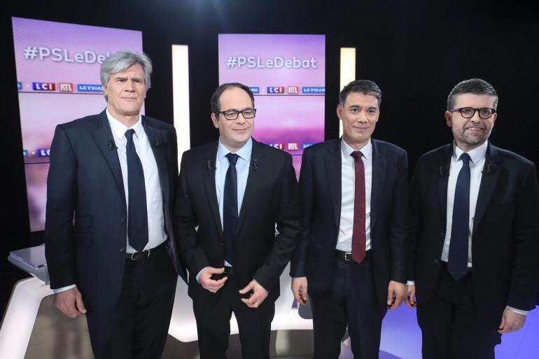 Luc Carvounas, Olivier Faure, Stéphane Le Foll et Emmanuel Maurel se disputent la tête du PS