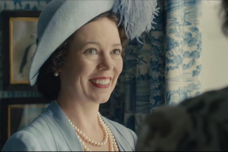 """Olivia Colman, dans le rôle de la reine Elizabeth II, dans la troisième saison de la série """"The Crown"""""""