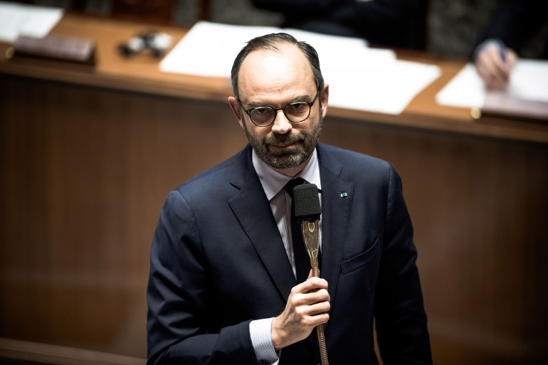 Édouard Philippe à l'Assemblée nationale, le 7 mars 2018
