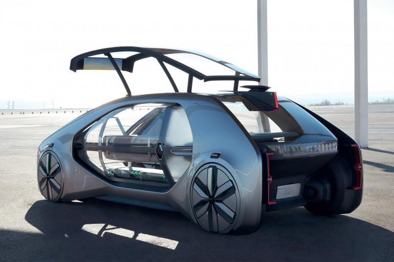 L'EZ-GO est un véhicule autonome, électrique et partagé développé par Renault