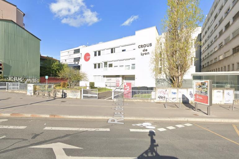 Le Crous de Lyon, dans le VIIe arrondissement.