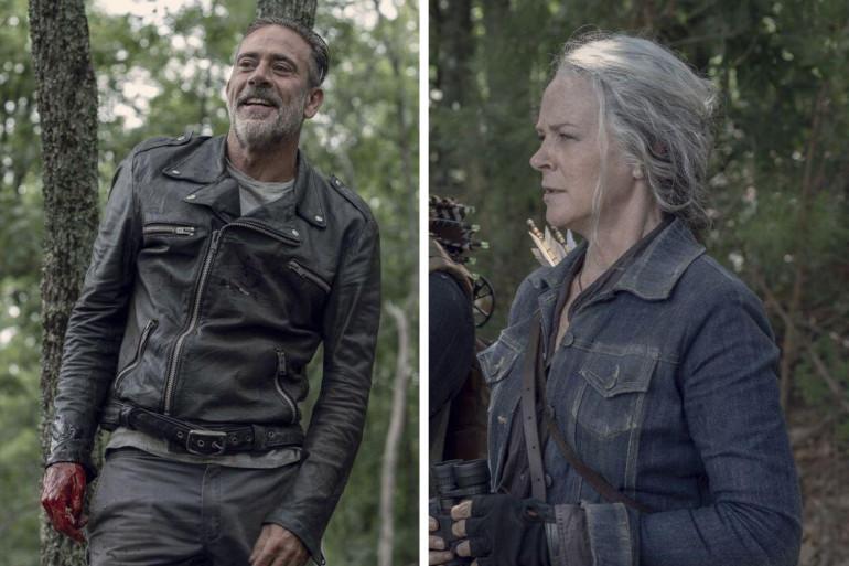 """Negan et Carol dans l'épisode 6 de """"The Walking Dead"""""""