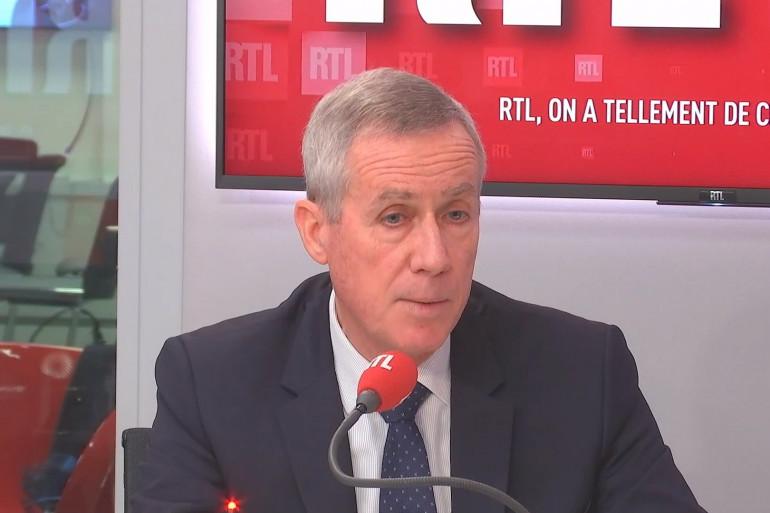 François Molins, invité de RTL Soir.