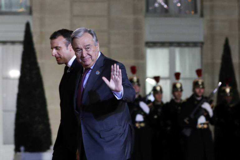 António Guterres, Secrétaire général de l'ONU (Organisation des nations unies), le 11 novembre 2019
