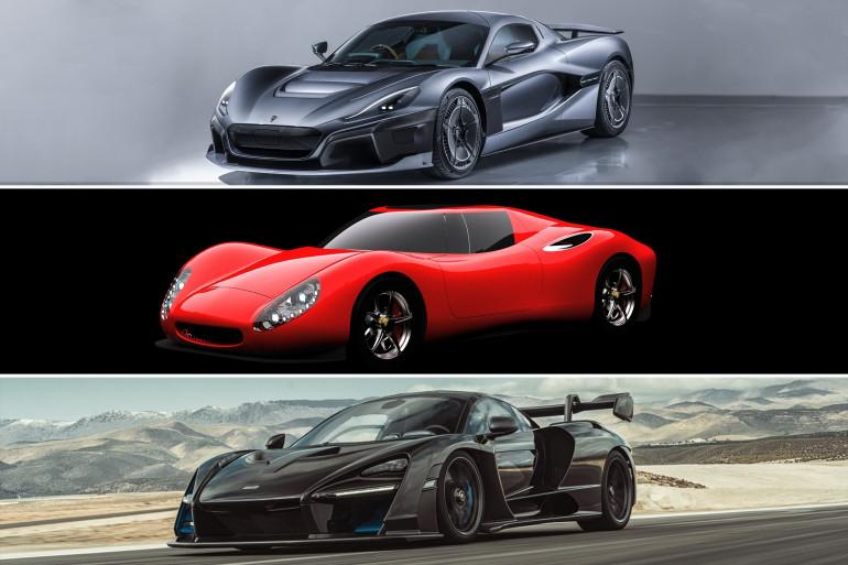 La McLaren Senna, la Corbellati Missile et la Rimac Concept-Two figurent parmi les voitures les plus extrêmes au monde.